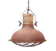 Label 51 - Hanglamp Grid Rust