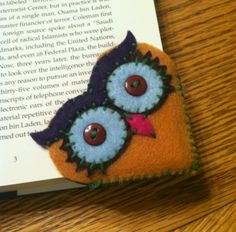 Owl bookmark | Craft Ideas: be wise in God's Words