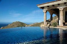 Nestled in the Pedregal hills and overlooking the Pacific ocean,this Spacious 6000 Sq. Ft. Hacienda -style villa leaves nothing to be desired. #vacation #mexico