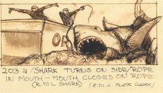 Jaws (1975) Director: Steven Spielberg Storyboard Artist: Joe Alves