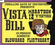 Vista Bill's appearance with Vitamin Flintheart in Dick Tracy Comic Strip (August 21, 2012).
