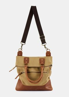 Jasper Foldover Bag