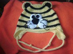 Berretto tigre neonato