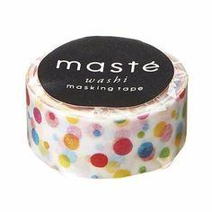 Maste Washi Tape - Polka Dots