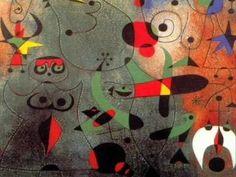 Descubriendo el arte: MIRO 1/4 ida y obra de Joan Miró i Ferrà pintor, escultor, grabador y ceramista español, considerado uno de los máximos representantes del surrealismo.