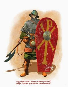 Warrior Byzantine army.Christos Giannopoulos