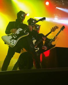 """19.2k Likes, 105 Comments - The Band Ghost (@thebandghost) on Instagram: """"A Message From The Clergy: Another beautiful sermon, shredding to the masses in Manchester.…"""""""