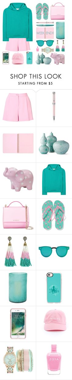 """Happy Weekend, Everyone.  PS Thank y'all so much for your likes & comments!!! (Description)"" by sharee64 ❤ liked on Polyvore featuring Boutique Moschino, Montegrappa, Frontgate, Balenciaga, Givenchy, Old Navy, Forever 21, Jamie Young, Casetify and Griffin"