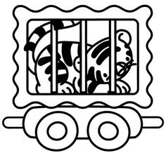 Circus Coloring Pages 22