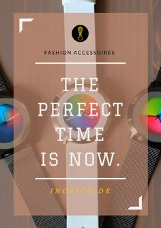 INCAICO brings you the best fashion accessproes for this summer. Chek our Colour Inspiration Watches at our store - www.incaico.de