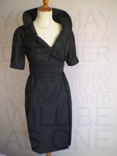 Black dress. , via Etsy.  tempting
