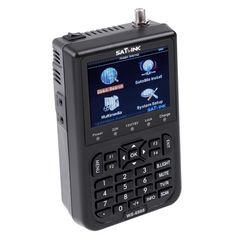 SATlink WS-6908 3.5  DVB-S FTA Professional Digital Satellite Signal Finder Meter