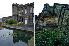 Dobroyd Castle in Todmorden, England