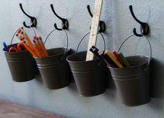 Rust-Oleum Painted Buckets