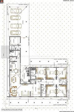 Casa 4 Quartos - 443.88m²