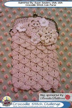 Crocodile-Stitch-Challenge-175 by The Crochet Crowd®, via Flickr