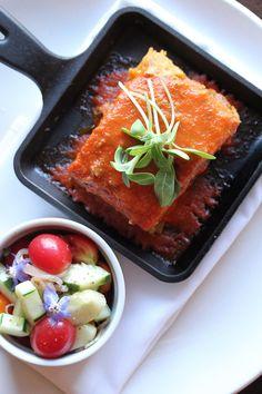 Gluten Free Vegan Tofu Lasagna - The Raw and The Cooked | Rachel Carr