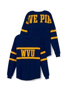 West Virginia University sweatshirt from Victoria Secret