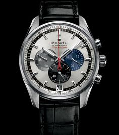 Once I get my CA designation, this is what Im getting - Zenith El Primero