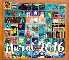 Santa Barbara Ceramic Tile Mural: Collaborative Art Project for Kids