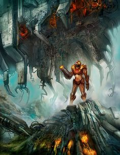 Oh wow I would love to play a Metroid game that looks like this