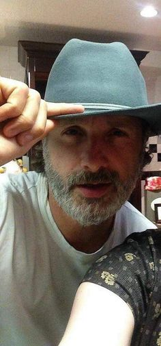 Yes to Andy with a hat!!