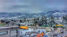 Landscape winter snow ❄️