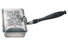 Vintage Silverplated Silent Butler