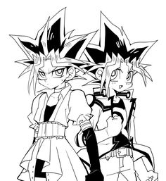 Poor Yami, forced to wear girl clothes from yugioh 5D