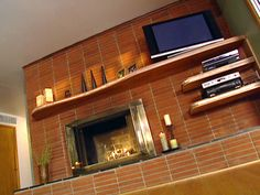 How To Install A Floating Mantel