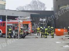 Brand im Eingangsbereich des Steiff Museums http://www.feuerwehrleben.de/brand-im-eingangsbereich-des-steiff-museums/ #feuerwehr #firefighter
