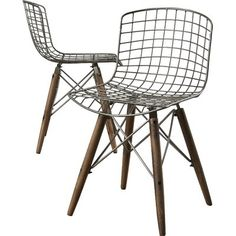 Once you set yourself upon this chic side chair, you'll be kicking back in high style! Drawing design influence from contemporary lofts uptown, this posh piece is sure to lend trend-setting taste to your space. Founded atop a crisscrossing geometric base,