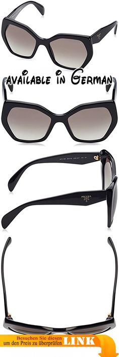 f0552d6142a9 Prada Sonnenbrille 16RS 1AB0A7 Black