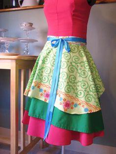 Pretty apron.