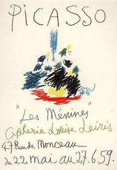 Picasso, Pablo - MP. 101- Les Menines
