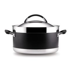 Anolon Ultra Clad Stainless Steel 8-Quart Covered Stockpo...