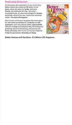 Better Homes and Gardens | Media Kit 2014