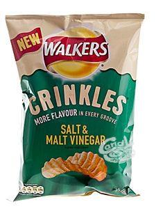 Walkers Crinkles Salt & Malt Vinegar nur 1,69 €