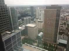 View from Level 39, Canary Wharf