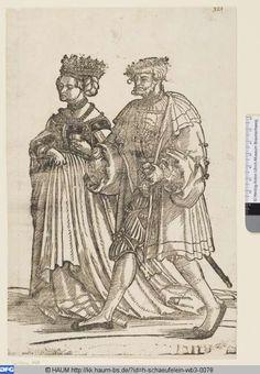 Das Brautpaar  Hans Leonhard Schäufelein  ~ 1535
