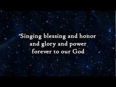 Phillips Craig & Dean - When the stars burn down (Blessing and Honor) - Lyrics