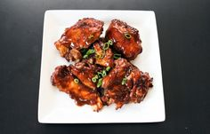 crockpot chicken adobo using chicken thighs, serves 4. pantry ingredients, looks phenomenal