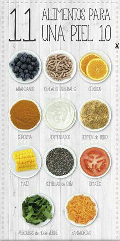 Para cuidar tu #piel, estas son las vitaminas que necesitas consumir.  Descubre cuales son y agrégale a tu dieta.