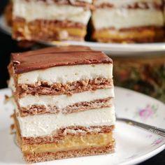 Prosty przepis na ciasto 3 bit Tiramisu, Blanket Shawl, Ethnic Recipes, Cakes, Food, Balcony, Cake Makers, Kuchen, Essen