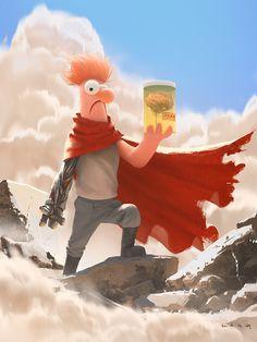 Beeker Tetsuo - Created by Ryan Lang