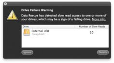 What to do when faced with a hard drive failure warning...