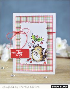 "It's time for the next in our monthly VIDEO series with Therese Calvird where she is creating FIVE ""same but different cards."" This month she calls her video Quick & Easy Critter Christmas. For…"