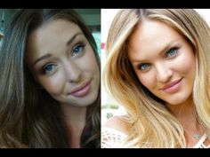 Victoria's Secret Inspired Makeup Tutorial ♡ Candice Swanepoel