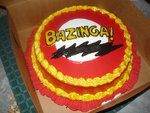 the big bang theory cake