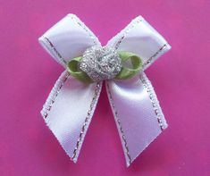 100 4mm Ribbon Very Cute Satin Bows For Cardmaking Beautiful Deep Red